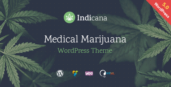 Indicana - Medical Marijuana WordPress Theme        TFx Paden Cliff
