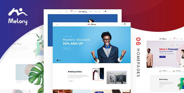 Melory - Modern Fashion WooCommerce Theme        TFx Jerred Jusuf