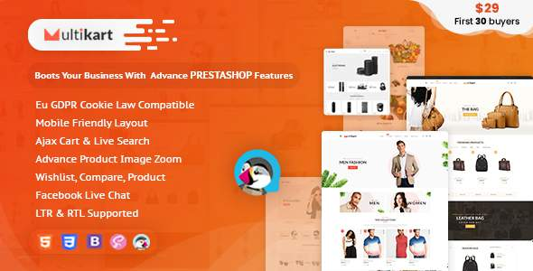 Multikart Prestashop Theme for Fashion | Clothing | Bags | Shoes | Accessories        TFx Vedast Nashrash