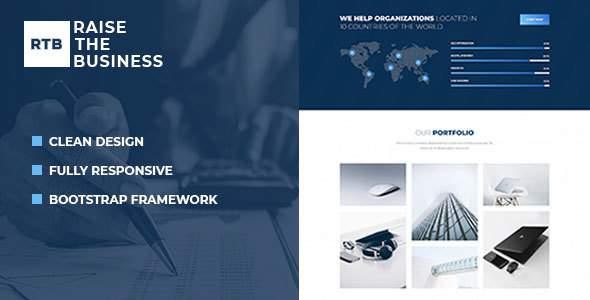 RTB - Business and Corporate HTML Template        TFx Reginald Kieran