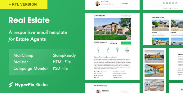 Real Estate Email Template        TFx Jamison Ladislaus