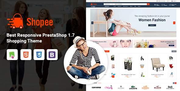 Shopee - MultiPurpose PrestaShop 1.7 Responsive Theme        TFx Edric Komang