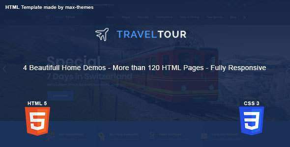 Travel Tour - Travel, Tour HTML Template        TFx Abraham Garrick
