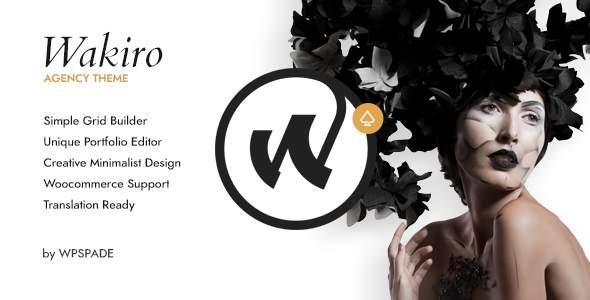 Wakiro – Responsive Agency Theme        TFx Dillan Ike