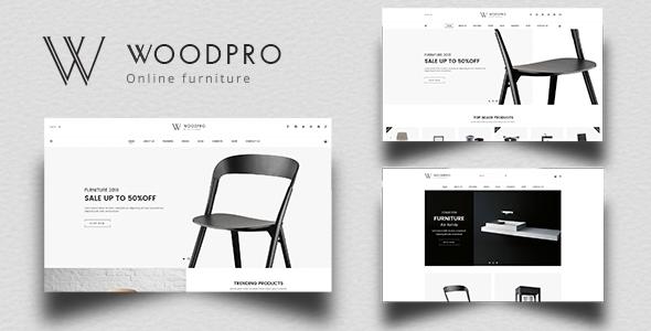 WoodPro - Modern Furniture & Interior Decor PrestaShop 1.7 Theme        TFx Leon Joby