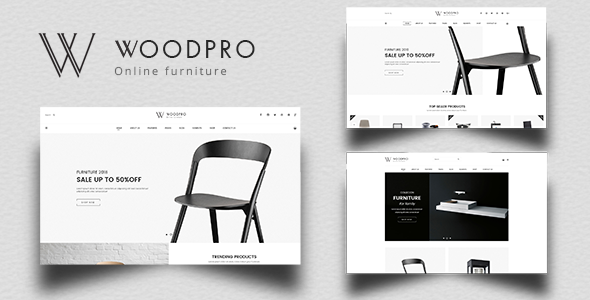 WoodPro – Modern Furniture & Interior Decor PrestaShop 1.7 Theme        TFx Farrell Fraser