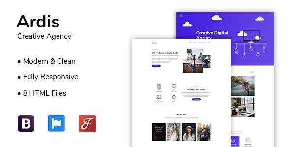 Ardis | Creative Agency HTML Template        TFx Diggory Rokurou
