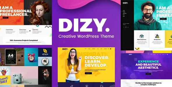 Dizy - Creative Portfolio WordPress Theme        TFx Bert Callahan
