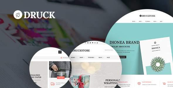 Druck WooCommerce WordPress Theme        TFx Timour Rowland