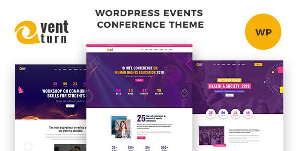 Eventturn – Responsive Events and Conference WordPress Theme        TFx Ketut Audley