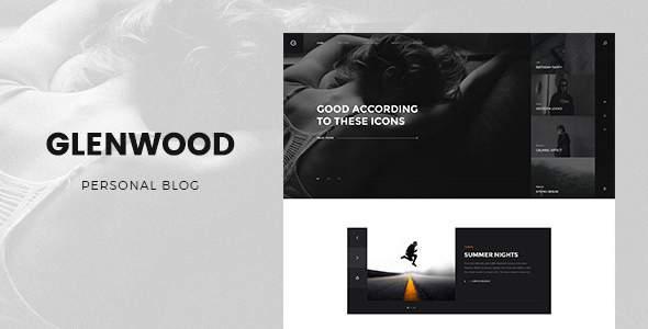 Glenwood - Personal Blog Template        TFx Antony Parris