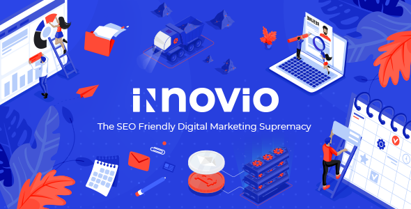 Innovio – SEO Friendly Digital Marketing Theme        TFx Hovik Triston