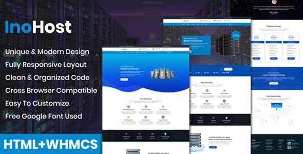 InoHost – WebHosting Business HTML Template        TFx Merrill Tyrone