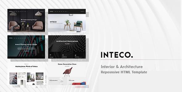 Inteco – Interior & Architecture HTML Template        TFx Quincy Domitian