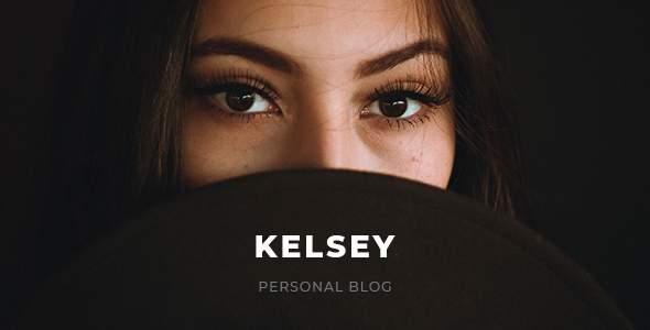 Kelsey - Blog PSD Template        TFx Aleksandr Grigor