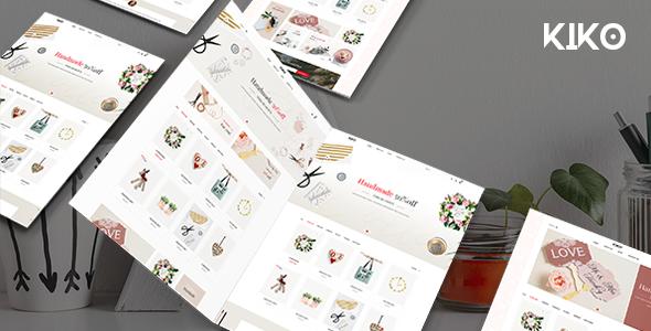 Kiko - Handmade Crafts PrestaShop 1.7 Theme        TFx Wayan Reggie