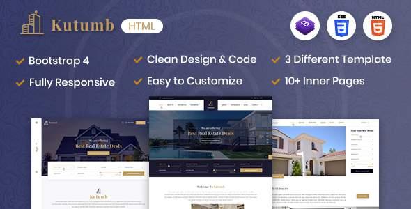 Kutumb - Responsive Real Estate HTML Template        TFx Nur Alec