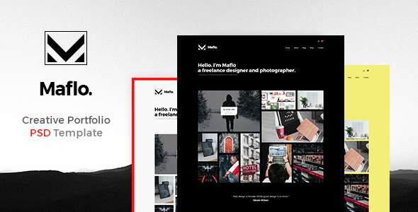 Maflo – Creative PSD Portfolio        TFx Morris Zechariah