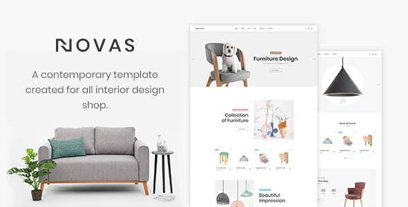 Novas | Furniture Store and Handmade Shop HTML5 Template        TFx Darwin Johnie