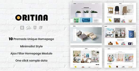 Oritina - Minimalist Responsive PrestaShop 1.7 Theme For Furniture, Decor, Interior        TFx Ethelbert Jimmy