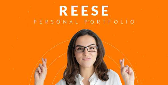 Reese – Bootstrap 4 Personal Portfolio        TFx Parker Anselm