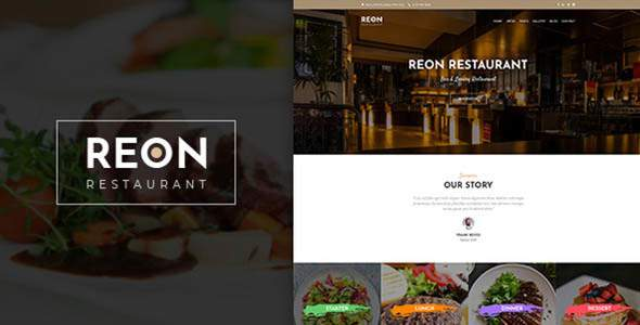Reon - Restaurant WordPress Theme        TFx Nat Pliny