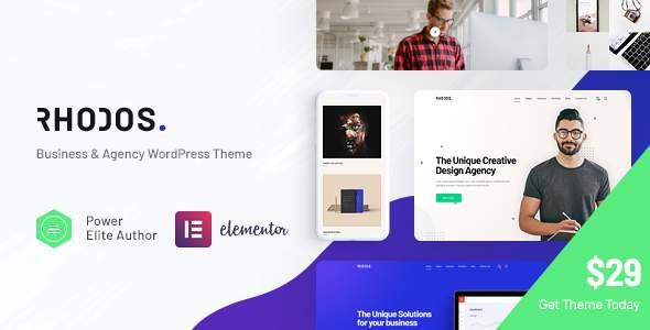 Rhodos - A Colossal Multipurpose WordPress Theme for Business & Portfolio        TFx Conor Bret