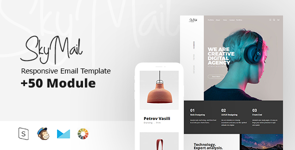 Sky Mail - Multipurpose Responsive        TFx Radclyffe Issy