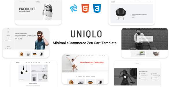 Uniqlo – Responsive Zencart Theme        TFx Russ Major