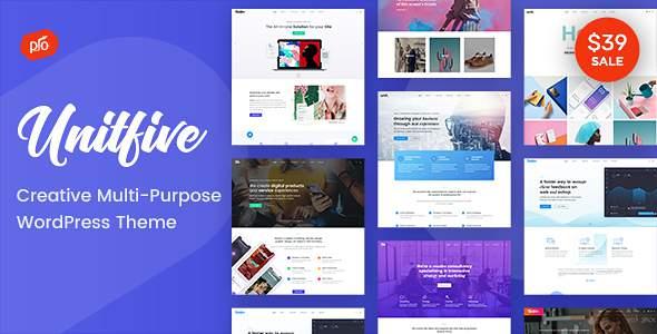 Unit Five - Creative Multi-Purpose Theme + RTL        TFx Lewis Zhirayr