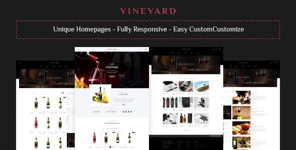 Vine Yard HTML Template        TFx Henry Duncan