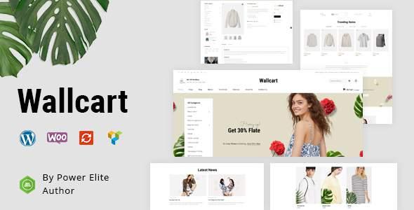 Wallcart - Multipurpose WooCommerce Theme        TFx Dexter Geoff