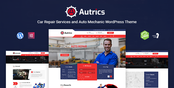 Autrics | Car Repair Services and Auto Mechanic WordPress Theme        TFx Fran Hayden