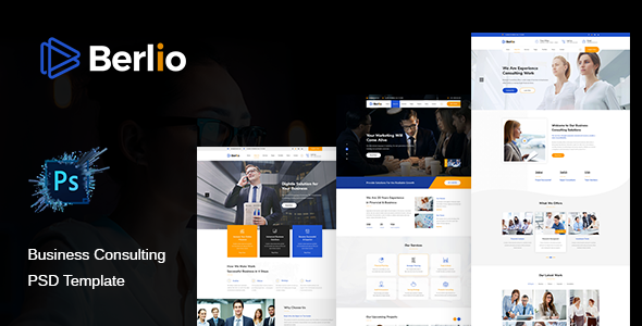 Berlio – Multipurpose Business PSD Template        TFx Terrence Ray