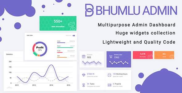 Bhumlu Bootstrap Admin Template        TFx Kian Gorou