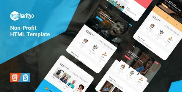 Charityo – NonProfit Fundraising Charity HTML Template        TFx Dale Tsubasa