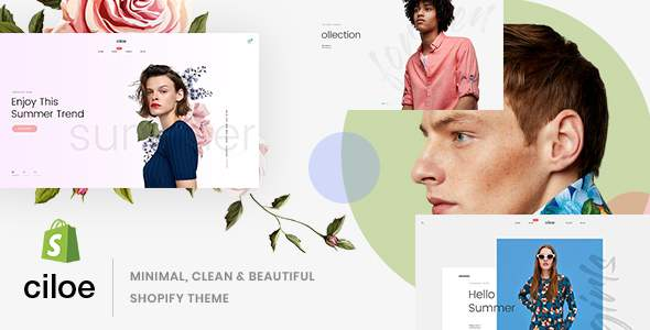 Ciloe - Minimal, Clean & Beautiful Shopify Theme        TFx Aaron Tristram