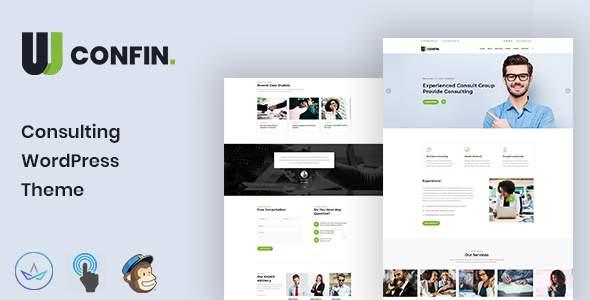 Confin - Consulting Business WordPress Theme        TFx Nevil Benji