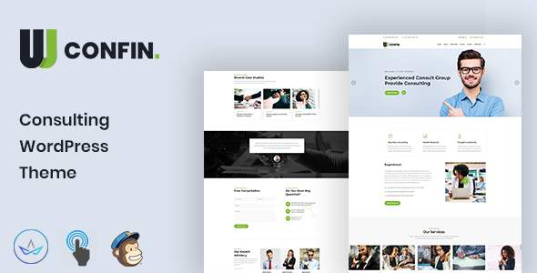 Confin - Consulting Business WordPress Theme        TFx Hoyt Surya