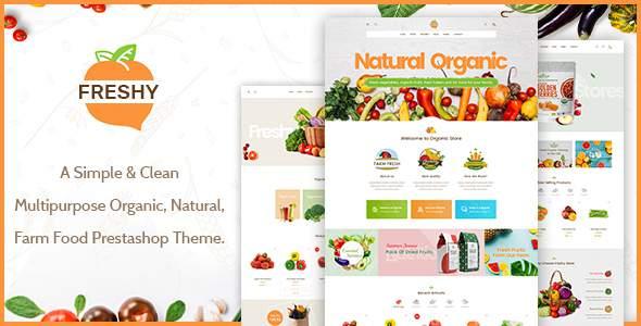 Freshy - Creative Organic Responsive Prestashop Theme        TFx Ryota Normand
