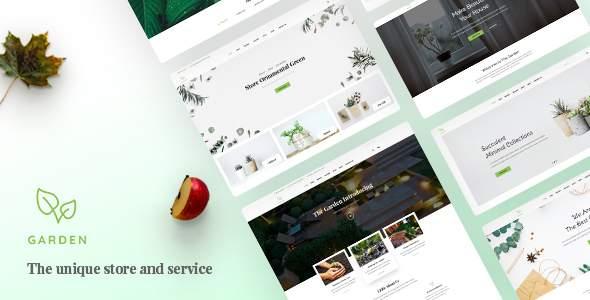 Garden – Lawn & Landscaping Bootstrap 4 Template        TFx Akira Nazar
