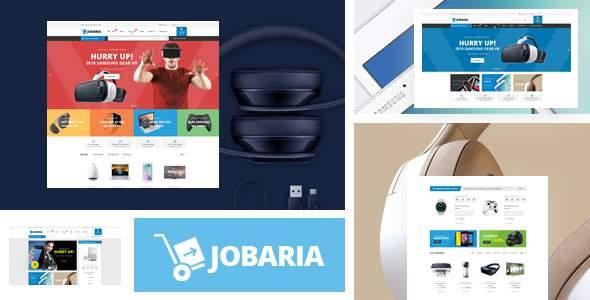 Jobaria - Responsive Prestashop Theme        TFx Baldric Clinton