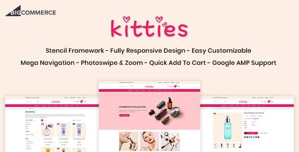 Kitties - Beauty Responsive BigCommerce Theme        TFx Robby Tasunka