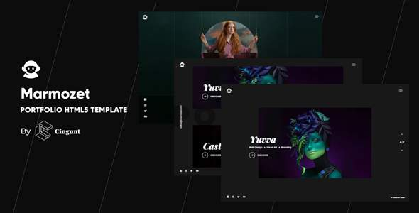 Marmozet – Portfolio Showcase HTML5 Template        TFx Haywood Shichirou