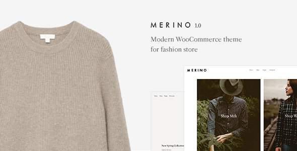 Merino | Modern WooCommerce shop theme for fashion store        TFx Tecumseh Matthew