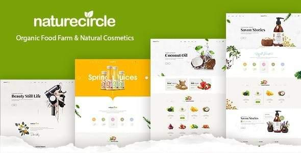 Naturecircle - eCommerce Shopify Theme        TFx Tom Asher