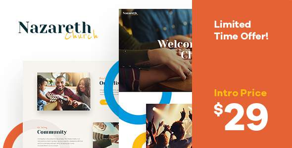 Nazareth | Church & Religion WordPress Theme        TFx Kelvin Manley