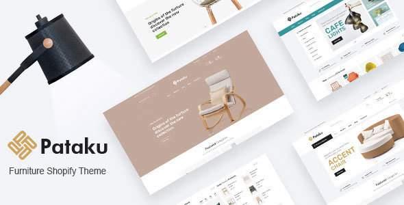 Pataku - Furniture Responsive Shopify Theme        TFx Baghdasar Rodney
