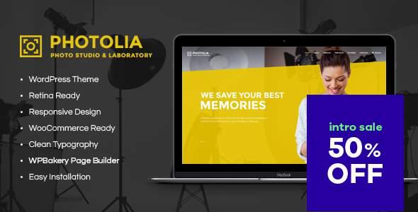 Photolia | Photo Company & Photo Supply Store WordPress Theme        TFx Kerry Sammy