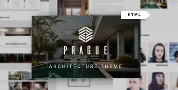 Prague - Architecture HTML Template        TFx Hayk Clyde